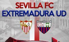 Sevilla-Extremadura el 4 de agosto en el Sánchez Pizjuán