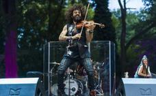 El violinista Ara Malikian actúa esta noche en la Alcazaba
