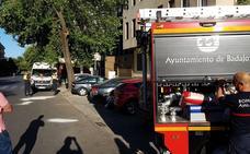 Herido leve un motorista de 28 años tras colisionar con un coche en Ronda del Pilar