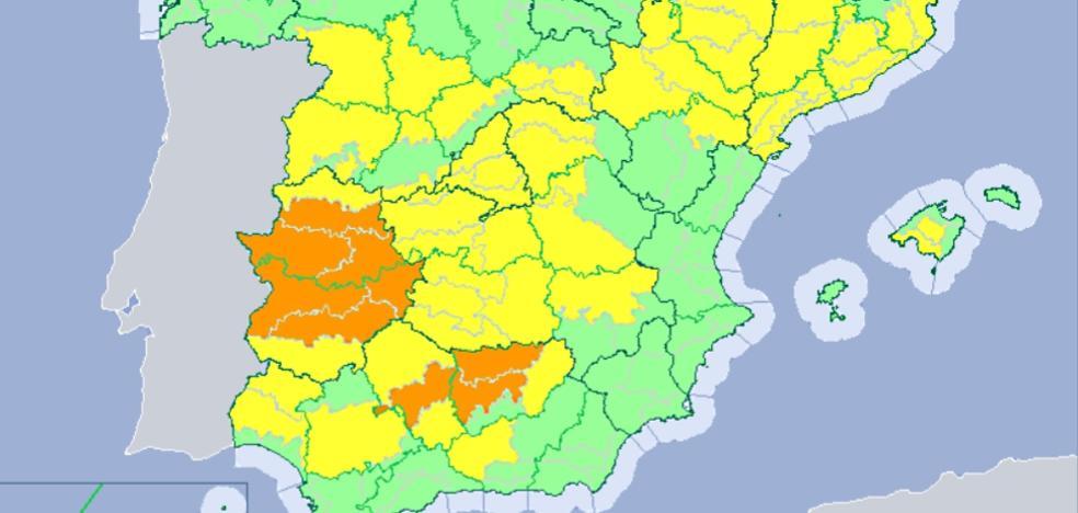 Extremadura alcanzará los 41 grados el miércoles y el jueves se espera que siga subiendo