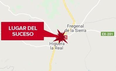 Un camión y cuatro turismos implicados en un accidente de tráfico en Higuera la Real