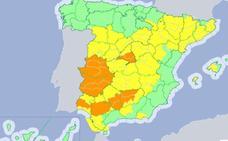 Extremadura permanece este miércoles en alerta naranja por máximas de hasta 42 grados