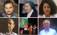 Ángel Sastre, Sor Cristina Arana, María Victoria Gil, Jaime de Jaraíz y Gonzalo Martín, Medallas de Extremadura