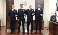 La plantilla de la Policía Local de Villanueva incorpora cuatro agentes más