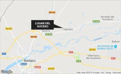 Fallece un motorista en la colisión con un tractor a la altura de Sagrajas