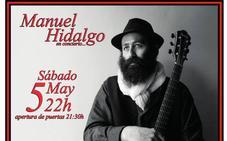 Manuel Hidalgo, de 'Graná' hasta el Claustro del Convento en Badajoz