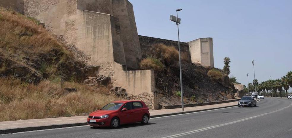 Más del 90% de los fuegos de pastos en Badajoz son intencionados