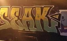 Dos jóvenes detenidos por pintar grafitis en un tren de Cabeza del Buey