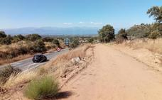 La Diputación de Cáceres inicia las obras del carril bici a Millanes