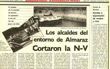Almaraz y su entorno se alían contra la central nuclear