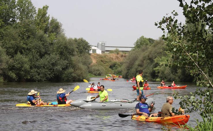 XI descenso del río Alagón