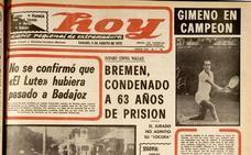 La llegada de el Lute a Badajoz se queda en falsa alarma