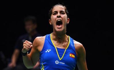 Carolina Marín entra en el Olimpo del bádminton