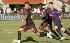 El Milán vence al Barça con un gol de Silva en el tiempo de descuento