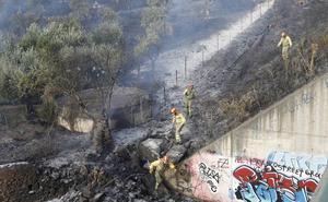 La Policía cree que el hombre detenido en Cáceres causó dos fuegos en la Sierrilla