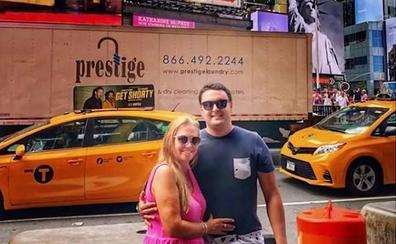 Belén Esteban disfruta de Nueva York junto a Miguel