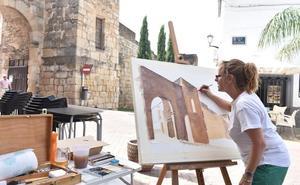 El lucense Manuel Carballeira gana el VI Concurso de Dibujo y Pintura al Aire Libre 'Bufón Calabacillas' de Coria
