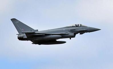 Un Eurofighter español dispara por error un misil en una misión de adiestramiento en Lituania