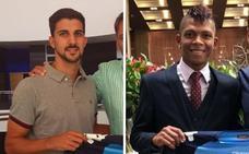Carlos Pomares y Billy Arce, un defensa y un extremo para el Extremadura