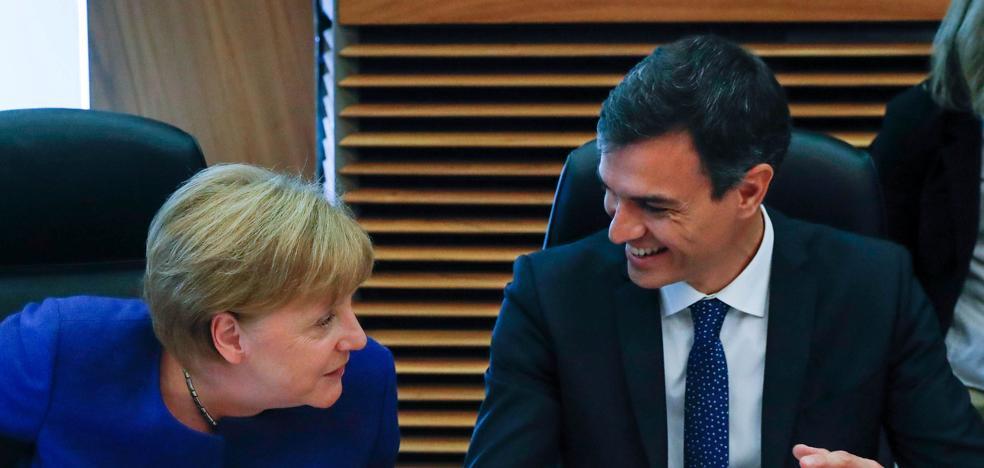 Sánchez recibe a Merkel este fin de semana en Doñana con el foco puesto en la política migratoria
