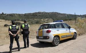 La Policía Local de Cáceres extrema la vigilancia en La Montaña para evitar incendios