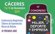 La Fundación Jóvenes y Deporte oganizará en Cáceres el IV congreso 'Mujer, Deporte y Empresa'