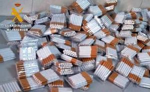 Intervienen 4.600 cigarrillos de fabricación casera en Badajoz y Puebla de Obando