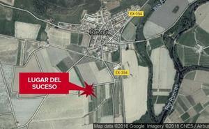 Herido grave un hombre de 35 años en un accidente entre una moto y un tractor en Rena