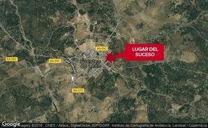 Herida una niña de 7 años tras ser atropellada en Fuentes de León