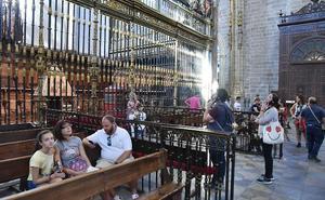 El obispado espera superar los 40.000 visitantes este verano en la catedral