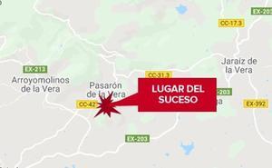 Dos chicas de 15 años son trasladadas al hospital tras ser atropelladas en Pasarón de la Vera