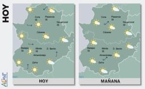 La Aemet cancela el aviso amarillo por altas temperaturas en la región
