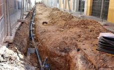 Las obras de la calle Alta están ejecutadas en un 70 por ciento