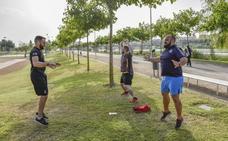 Un polideportivo al aire libre
