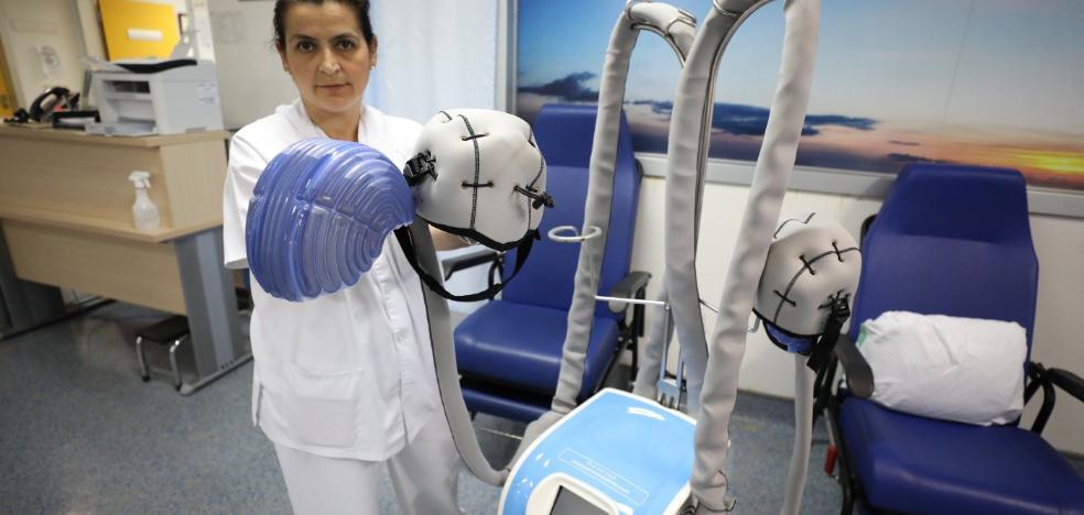 El hospital de Mérida aplica una técnica que evita la caída del pelo a enfermos de cáncer