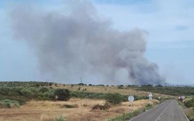 Desactivado el nivel 1 en el incendio de Guijo