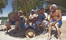 Orellana, la playa más famosa de Extremadura