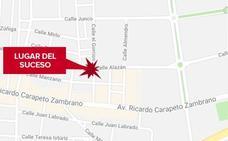 Cuatro personas heridas en un accidente de tráfico en el casco urbano de Badajoz