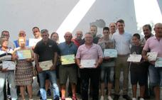 Toribio Sánchez, Ángel Nevado, José R. Jiménez y Teodoro Barco ganan el Concurso del Tabaco y el Pimiento de Jaraíz