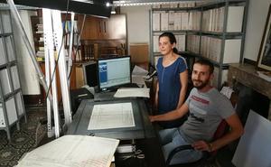 Digitalizan documentos de carácter genealógico del Archivo Municipal de Trujillo