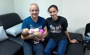 El padre de Patricia Aguilar: «Estamos muy bien, felices y encontrándonos»