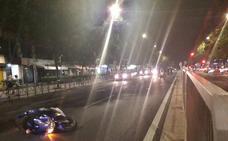 Un joven de 27 años resulta herido tras la colisión de una moto y un coche en Cáceres