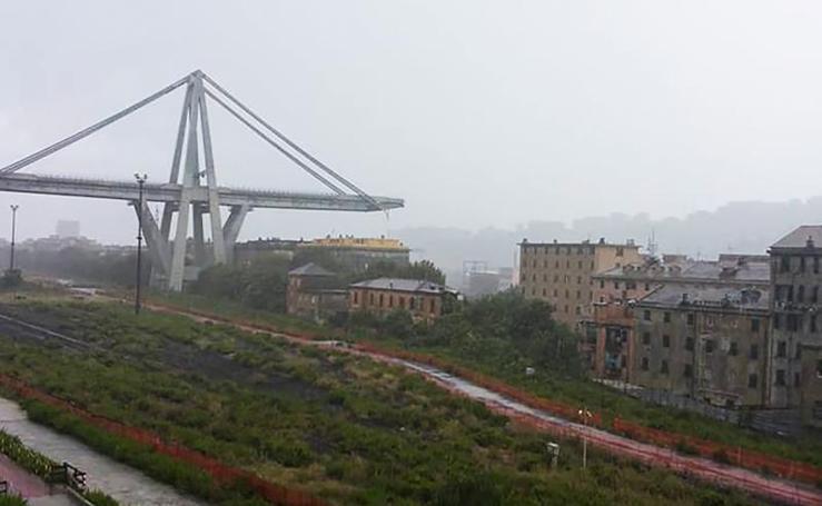 Decenas de muertos tras el colapso de un viaducto en Génova