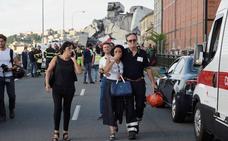 El derrumbe de un viaducto en Génova causa 35 muertos