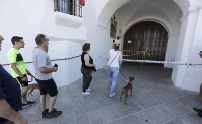 Las cámaras grabaron a tres encapuchados en el robo en el Santuario de la Montaña de Cáceres