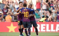 El Barça golea a Boca Juniors y se lleva el Gamper