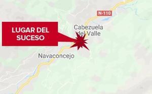 Un varón de 66 años resulta herido grave al ser atropellado en Cabezuela del Valle