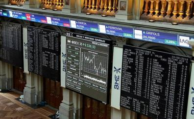 El Ibex-35 cierra una difícil sesión al filo de los mínimos del año