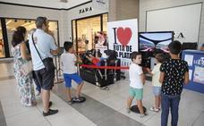 Fórmula 1 en el centro comercial Ruta de la Plata