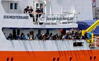 Italia acogerá 20 migrantes del 'Aquarius'